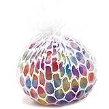 Fancyku Anti Stress Mesh/Bulb Spongy Ball Toy Grape Stress Relief Squeezing Ball (White)