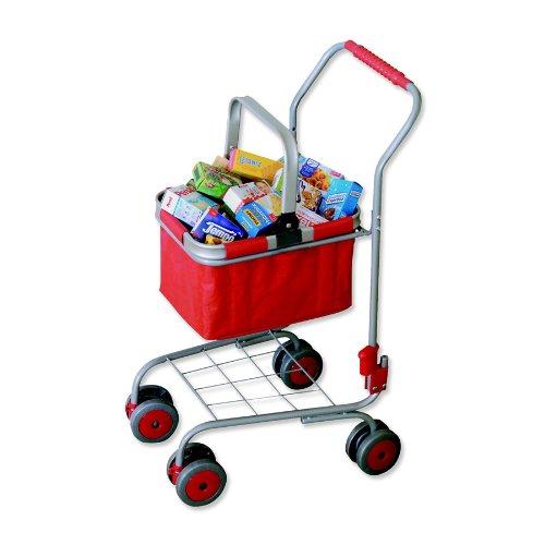 Preisvergleich Produktbild Tanner Kaufladen-Einkaufswagen mit Reisenthel Carry Bag, ca. 40 Marken-Packungen