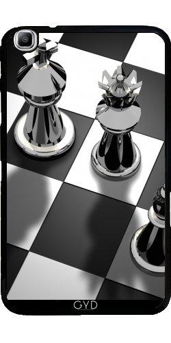 Hülle für Samsung Galaxy Tab3 8.0 SM-T310 - Schach Spiel König by WonderfulDreamPicture