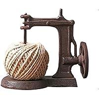 ziwangjun Ventana de país Americano apoyos Decorativos Adornos Retro nostálgico máquina de Coser Cuerda de Hierro
