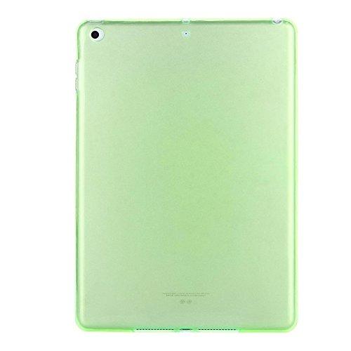 QinMM ultradünne weiche Silikon-TPU-Kasten-Abdeckung für ipad 9.7Inch 2018 Tablette, stoßsicheres Leichtgewichtler - Silikon-tabletten-kasten