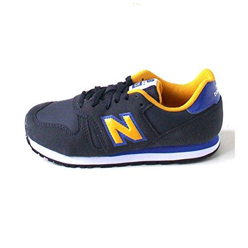 New Balance - Kj373, Sneaker Unisex – Bambini Blu/Giallo