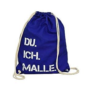 DU. ICH. MALLE. Rucksack | Turnbeutel | Baumwollrucksack | Festival | Mallorca | Geschenkidee | Ostern | Urlaub | Geburtstag | Muttertag