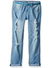 LEE Girls' Belted Skinny Jean