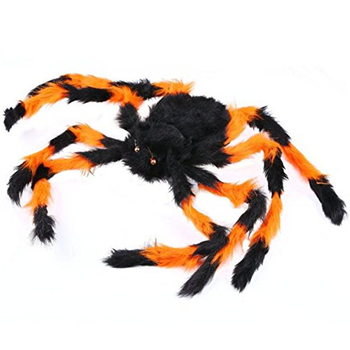 Plüsch Spider für Halloween Dekoration Party Favor Haunted House Prop, multi, 75 (Kostüm Spider Beine)