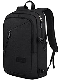 Laptop Backpack, School Bag With USB Charging Port For Women & Men- Business Computer Sleeves Fits Slim Notebook...