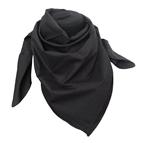 tessago - Fular - para mujer negro negro Talla única