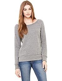 Bella - Ladies' Triblend Wideneck Sweatshirt, Gray S