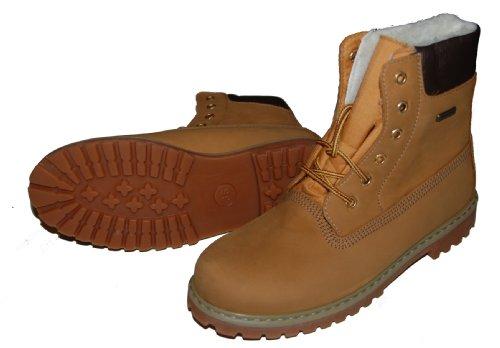 Däumling Chaussures pour enfants, Chaussures d'hiver, grande, Chaussures Chaussures en cuir Beige - beige (Aspen natur)