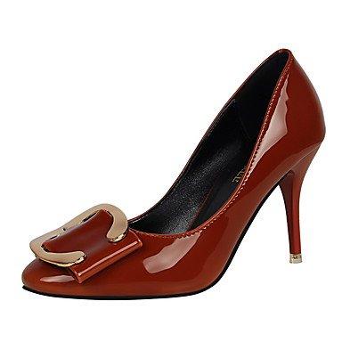 Moda Donna Sandali Sexy donna tacchi primavera / estate / autunno casual Comfort Stiletto Heel nero / blu / verde / viola / rosso / cammello / Black