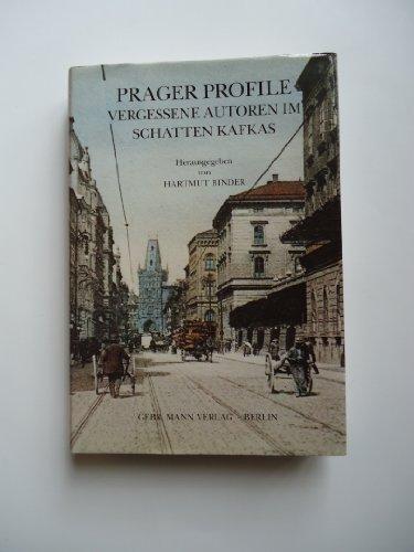 Buchseite und Rezensionen zu 'Prager Profile: Vergessene Autoren im Schatten Kafkas' von Hartmut Binder