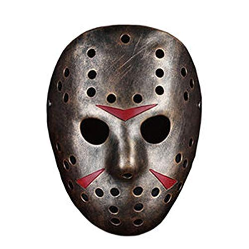 Werkzeuge Halloween Harz Maske Jason, V Theme, Donner, Skorpion, Schnabelmaske für Maskerade, Kostümparty, Rollenspiel, Geschenk (Size : Style 04) ()