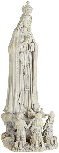 Design Toscano Unserer Lieben Frau von Fatima, Großformatige Figur (Fatima-statue)