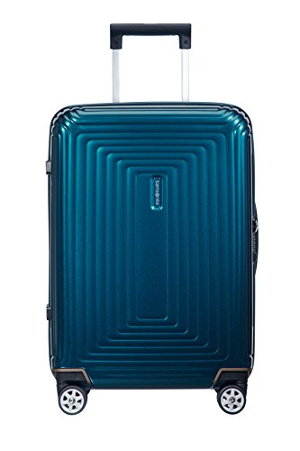 Samsonite Neopulse - Maleta, Azul (Metallic Blue), 55cm (anchura 23cm)-44L