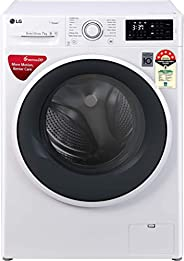 LG 7.0 kg 5 Star Inverter Fully-Automatic Front Loading Washing Machine (FHT1007ZNW, White, 6 Motion Direct Dr
