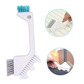 Tile Brush Grount Cleaner Brush, Joint Brush(3 in 1), Alohha Bathroom Brush Crevice Brush Floor Brush Dirt Kitchen Brush for Deep Cleaning