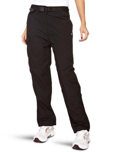 Image of Craghoppers Women's Classic Kiwi Walking Trousers - Black, Regular-Size 8
