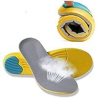 OLVO Memory Foam Orthopädische Einlegesohlen, Schuh Polsterung fügt Schmerzlinderung schneidbar Größe Unisex Sport... preisvergleich bei billige-tabletten.eu