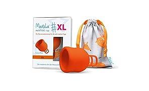 Merula Cup XL fox (arancione) - La coppetta mestruale per i giorni molto forti