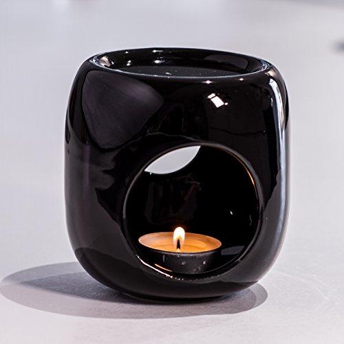 Kaloogo Sabai Scent Pure - Keramik Duftlampe/Duftlicht - schwarz B-Ware