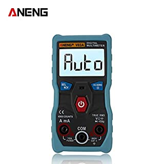 ANENG V03A Full Intelligent Auto Identification Measurement Digital Multimeter Low Battery Indication with Backlight
