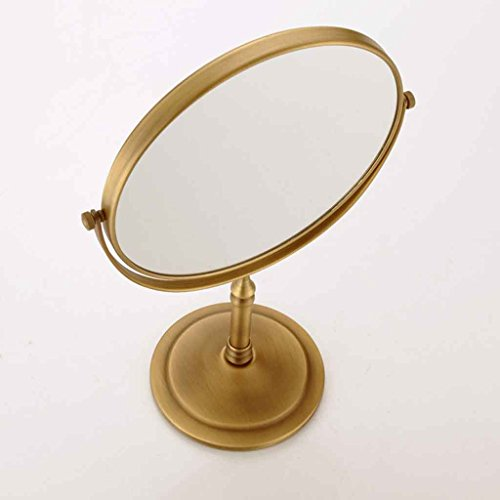 Miroirs Punching Gratuit Antique Salle de Bain Mur Maquillage Pliant vanité Salle de Bains télescopique Pliant