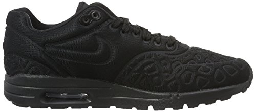 Nike Damen Air Max 1 Ultra Plush Sneakers, Schwarz - 6