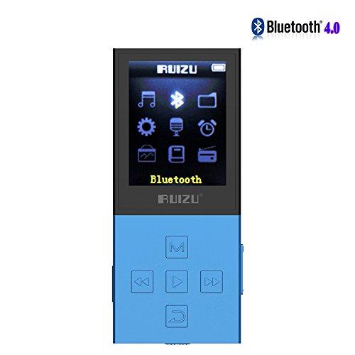 cfzc Bluetooth 4.08GB MP3Player 50Stunden verlustfreie Sound Wiedergabe Sport MP4Media Player