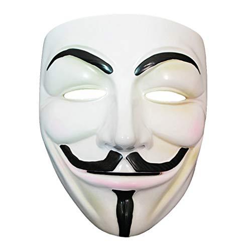 Fafalloagrron Halloweenmasken, Kunstharz, Ganzgesichtsmasken, Maskenball, Kostüm, Erwachsene, Cosplay, Kostüm, Party, Zubehör