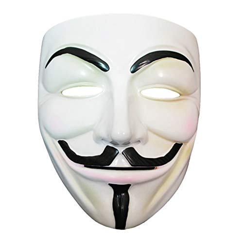 Fafalloagrron Halloweenmasken, Kunstharz, Ganzgesichtsmasken, Maskenball, Kostüm, Erwachsene, Cosplay, Kostüm, Party, ()