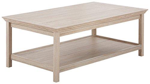 LifeStyleDesign 10060216 Couchtisch, Holz, eiche, 120 x 70 x 45 cm