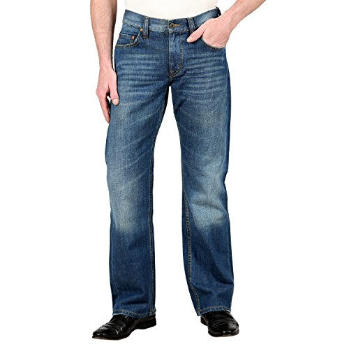 Mustang -  Pantaloni sportivi  - Uomo blu W31/L34