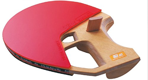 SANWEI Pistol Grip CQ2 Tischtennisschläger TT-Schläger Weltneuheit ! Pistolgrip Komplettschläger