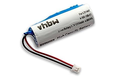 vhbw Li-Ion Akku 1350mAh (3.7V) für Spielekonsole Sony Playstation Move Motion Controller, CECH-ZCM1E, PS3 Move wie LIS1441, LIP1450,