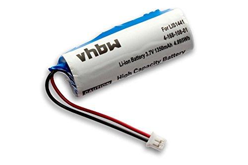 vhbw Akku passend für Sony Playstation PS3 & PS4 Move Motion Controller CECH-ZCM1E wie LIS1441, LIP1450, 4-168-108-1 - (Li-Ion, 1350mAh, 3.7V)