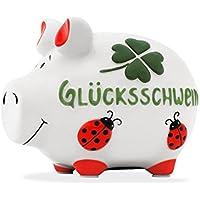 Preisvergleich für KCG Sparschwein Glücksschwein Luxus Kleinschwein Spardose Sparbüchse Limited Edition