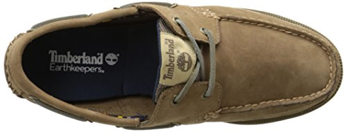 Timberland Ekkiawahby, Chaussures bateau homme Gris (Taupe)