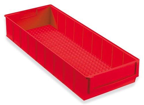 Preisvergleich Produktbild 24 Stapelkiste Lagerbox Lagerkästen Universalbox 500x183x81mm rot