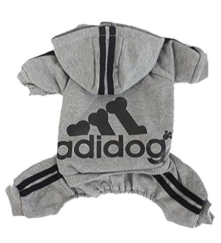 Scheppend Adidog Pet Dog Cat Sweater Puppy T Shirt Warm