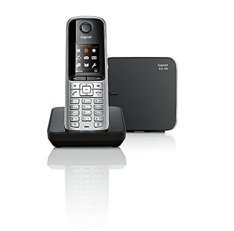 Gigaset S810 Telefon, Schnurlostelefon / Mobilteil, Farbdisplay, Dect-Telefon, schnurloses Telefon,