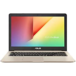 "ASUS VivoBook Pro 15 N580GD-E4189T - Portátil de 15.6"" FHD (Intel Core i7-8750H, 8 GB RAM + 16GB Optane, 1 TB HDD, NVIDIA GeForce GTX1050 4 GB, Windows 10 Home) Metal Oro - Teclado QWERTY Español"