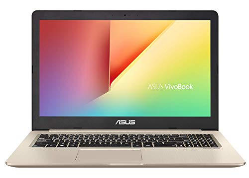 "ASUS VivoBook Pro 15 N580GD-E4189T - Portátil de 15.6"" FHD (Intel Core i7-8750H, 8 GB RAM + 16GB Optane, 1 TB HDD, NVIDIA GeForce GTX1050 4 GB, Windows 10 Home) Metal Oro - Teclado QWERTY Español"