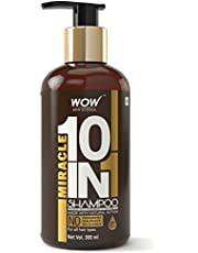 WOW Miracle 10 in 1 No Parabens Sulphate Shampoo 300mL
