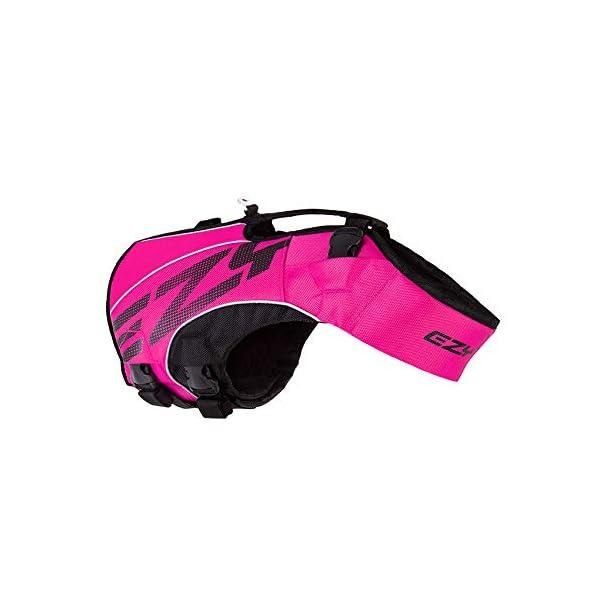 EzyDog X2 Boost Dog Lifejacket (Small, Pink) 6