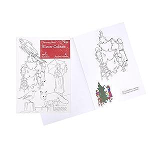 Colori Invernali Libro da Colorare: attività Artistica e Prodotti Specifici per Le Persone Affette da Demenza/Alzheimer