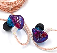 KZ ZST Pro 3.5mm Wired In Ear Headphones w/Microphone HiFi Music Earphones Sports Headset with Replacement Ear