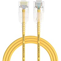 samzhe Cat6a ultrafine–Cavo patch Ethernet RJ45Computer, PS2, PS3, Xbox cavo