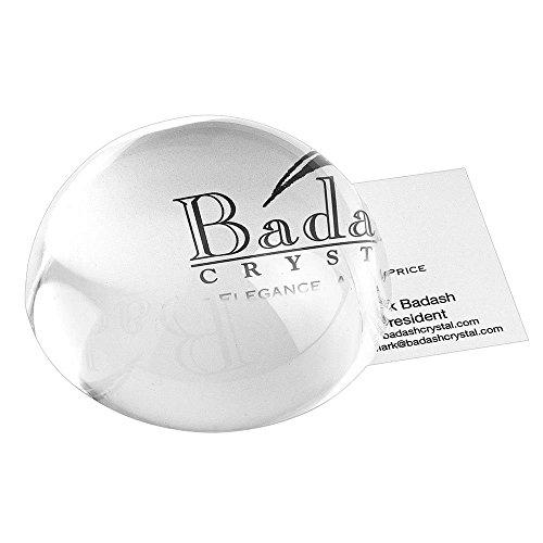 Badash SU3187,6cm Kristall Briefbeschwerer Lupe -