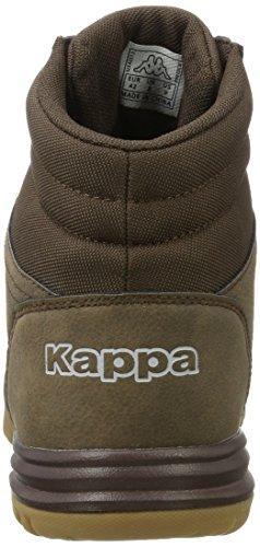 Kappa Herren Brasker Mid Combat Boots Braun (5050 Brown)