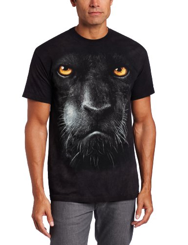 The Mountain Maglietta Black Panther Face Big Cats Adulto Unisex M